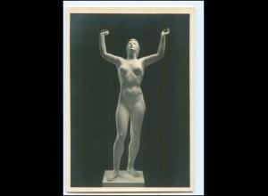 """Y11715/ Skulptur Foto AK Arno Breker: """"Eos"""" ca.1935"""