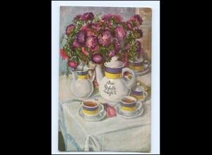 Y11711/ Der Kathreiner-Kaffeetisch AK ca.1920