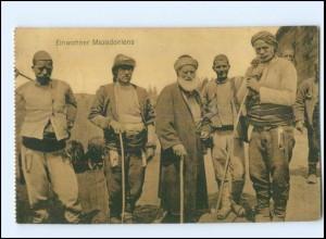 U5417/ Einwohner Mazedoniens AK 1917