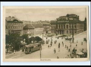 U5418/ Bratislava Straßenbahn AK 1927 Tschechien