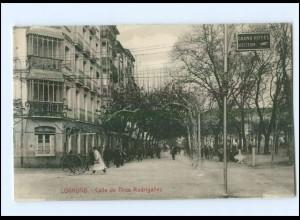 U5454/ Logrono Calle de Tirso Rodriganez Spanien AK ca.1912