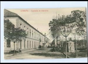 U5456/ Logrono Cuarteles de Infanteria Spanien AK ca.1912