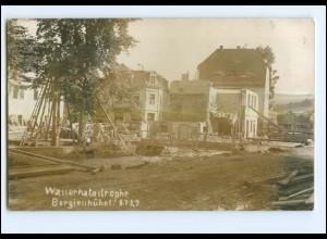U5591-018/ Berggiesshübel Wasserkatastrophe 1927 Foto AK