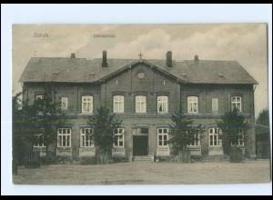 U5791-2853/ Dorum Volksschule 1918 AK
