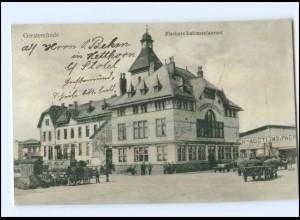 U5573/ Geestemünde Fischereihafenrestaurant Kutschen AK 1914 Bremerhaven