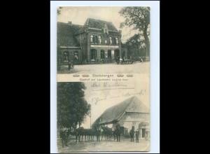 U5590-2817/ Stedebergen b. Dörverden Gasthof zur Landwehr AK 1913