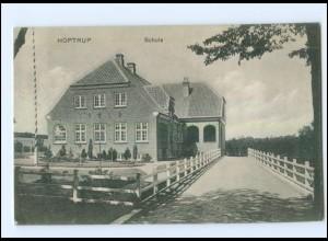 U5563/ Hoptrup Schule Nordschleswig AK 1913
