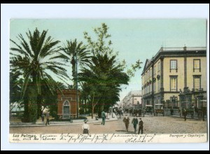 U5864/ Spanien Las Palmas 1906 AK