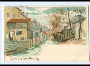 U5999/ Mülhausen Vues Mulhousinnes No. 6 P.Hartmann Litho AK 1898