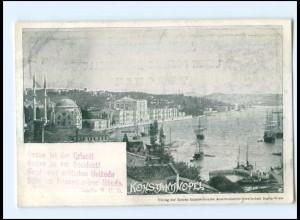 U5653/ Konstantinopel Türkei AK Verlag der Ersten Ansichtskarten-Gesellschaft
