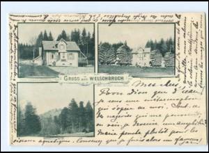 U5616/ Gruß aus Welschbruch Elsaß AK 1899