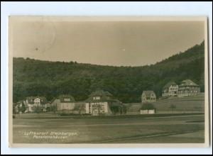 U5796-3260/ Steinbergen Pensionshäuser 1930 Foto AK