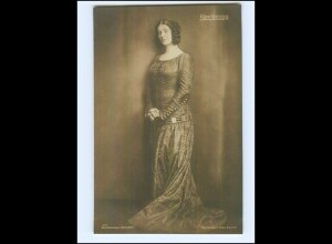 Y11849/ Else Heims in König Heinrich IV Schauspielerin Foto AK ca.1912