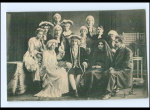"""U6013/ Uetersen Aufführung """"Minna von Barnhelm"""" Seminaristenschaft 1917 AK"""