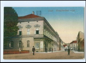 U5920/ Sisak Kranjceviceva ulica Kroatien AK ca.1912