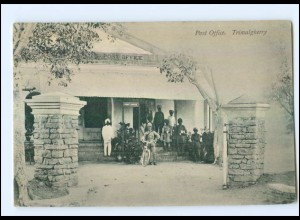 U5924/ Trimulgherry Secunderabad Post Office Indien AK ca.1910
