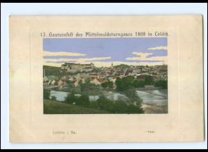 U5990-046./ Colditz 13. Gauturnfest 1909 AK