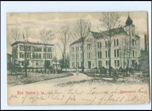 U8163/ Bad Hamm Schützenhof AK 1906