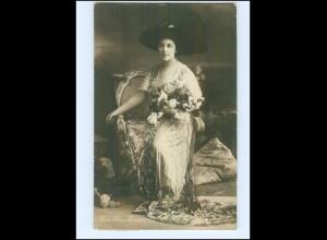 Y12030/ Geraldine Farrar Opernsängerin Oper Foto AK 1908