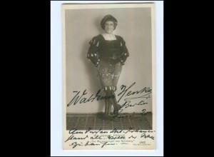 U6442/ Waldemar Henke Meistersinger von Nürnberg Oper Autogramm AK 1920