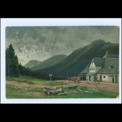 U6547/ Riesengebirge Wittighaus E. Morgenstern AK 1910