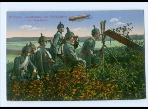 Y12082/ 1. Weltkrieg AK Das Deutsche Heer - Artillerie, Beobachtung