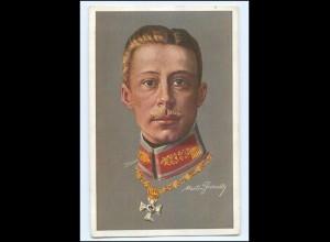 Y12084/ Kronprinz Wilhelm mit Ehrenzeichen Künstler AK ca.1914