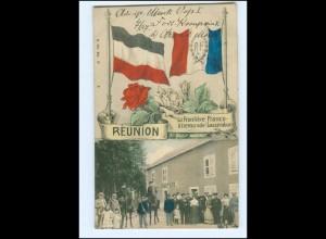 U6487/ Reunion La Frontiere Grenze Frankreich - Deutschland AK 1913