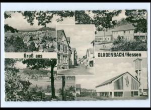 U6244-3554/ Gruß aus Gladenbach AK