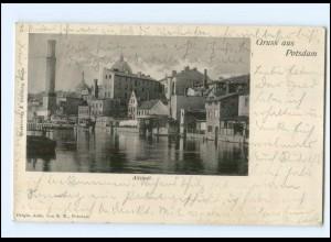 U6239-144./ Gruß aus Potsdam Altstadt 1904 AK