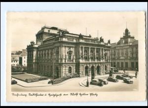 U6427/ Reichenberg Liberec Stadttheater Foto AK ca.1940 Tschechien