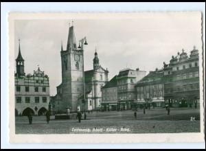 U6423/ Leitmeritz Litomerice Adolf-H-Ring Foto AK 1941 Tschechien
