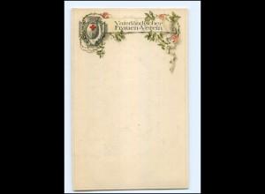 Y12207/ Vaterländischer Frauen-Verein Litho AK 1914