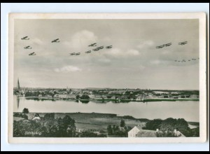 U6649/ Flugzeuge über Schleswig Foto Ak ca.1940