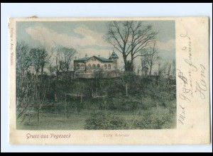 U6686/ Bremen Vegesack Villa Schröder AK 1903