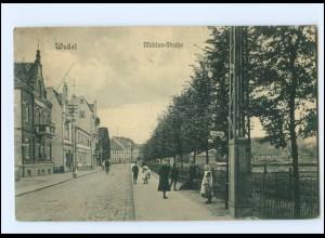 U6702/ Wedel Mühlenstraße AK ca.1910