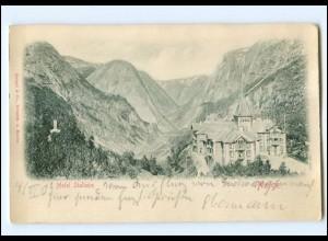 U6670/ Hotel Stalheim Norwegen Reliefdruck AK 1903