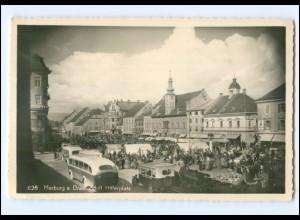 U6688/ Marburg an Drau Maribor Adolf-H-Platz Foto AK ca.1940 Slowenien
