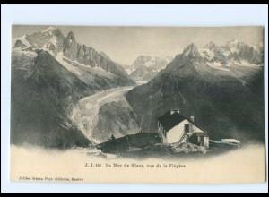 U6697/ Le Mar de Clace, vue de la Flegere Frabkreich AK ca.1910 -744-