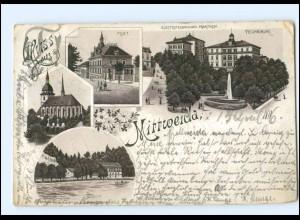 Y12461/ Gruß aus Mittweida Litho AK 1896