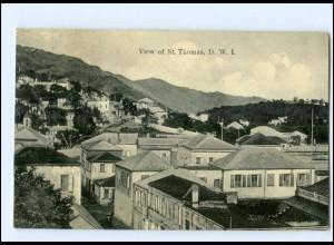 U6750/ St. Thomas Karibik Dänisch-Westindien AK ca.1910