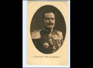 Y12149/ Kriegsminister Wild von Hohenborn Wohlfahrts AK ca.1915