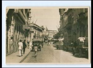 U6635/ Santos Rua do Commercio Brasilien Brazil Foto AK ca.1935