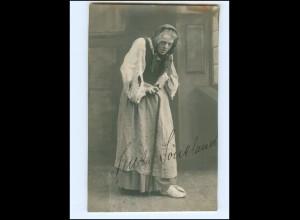 Y14484/ Schauspielerin Senta Söneland Original Autogramm Foto AK 1914