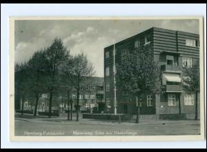 XX004806/ Hamburg Fuhlsbüttel Maienweg, Ecke am Hasenberge Ak 1933