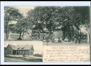 XX004928-2808/ Gruß aus Ristedt Stövers Gasthof 1905 AK
