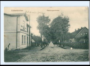 XX005197-2358/ Kaltenkirchen Hamburgerstraße AK 1914