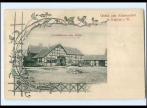XX004812-4993/ Gruß aus Kleinendorf bei Rahden Geschäftshaus A. Meier AK