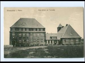 XX005171/ Bremen Blumenthal Neue Schule mit Turnhalle AK 1918