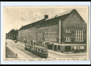 XX005142/ Kobenhavn Kopenhagen Straßenbahn Enghavevey AK ca.1935